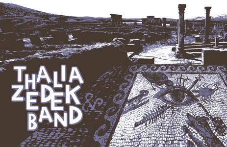 Thalia Zedek Band Poster - image 3 - student project