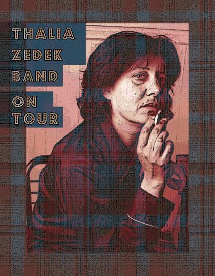 Thalia Zedek Band Poster - image 6 - student project